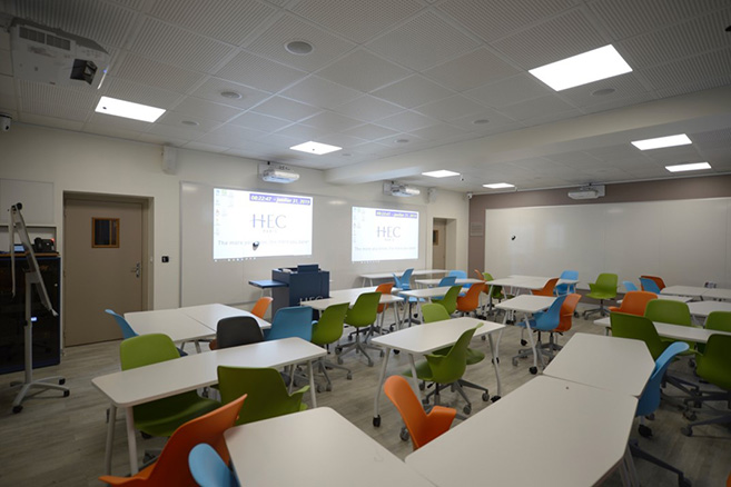 tech in the classroom HEC