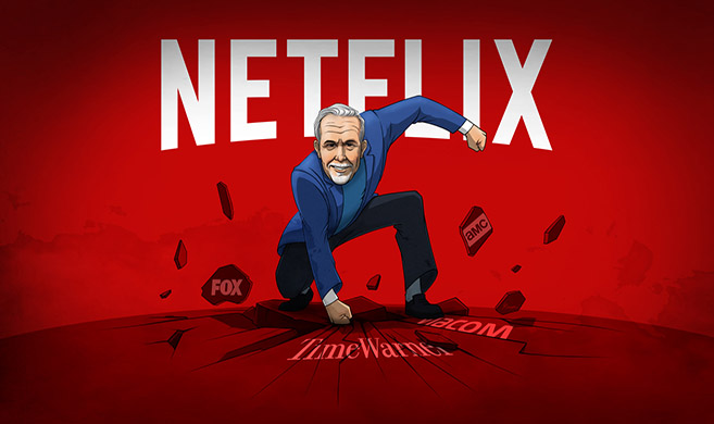 The future of Netflix in the face of a new competition | HEC