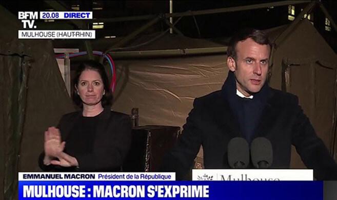 Discours President Macron 25 mars Mulhouse