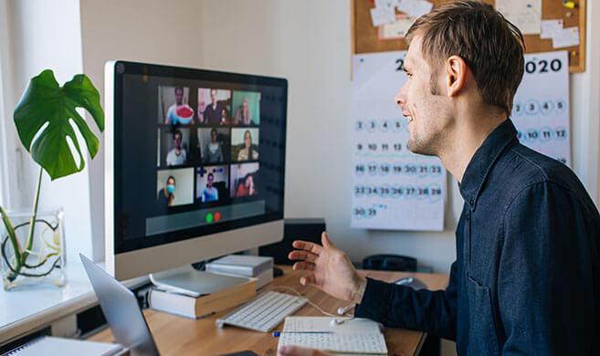 happy remote team - Girts-AdobeStock