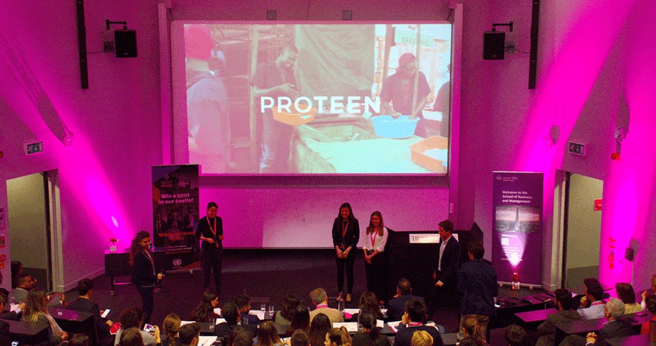 Hult Prize 2019 - London Regionals - Proteen - HEC Paris