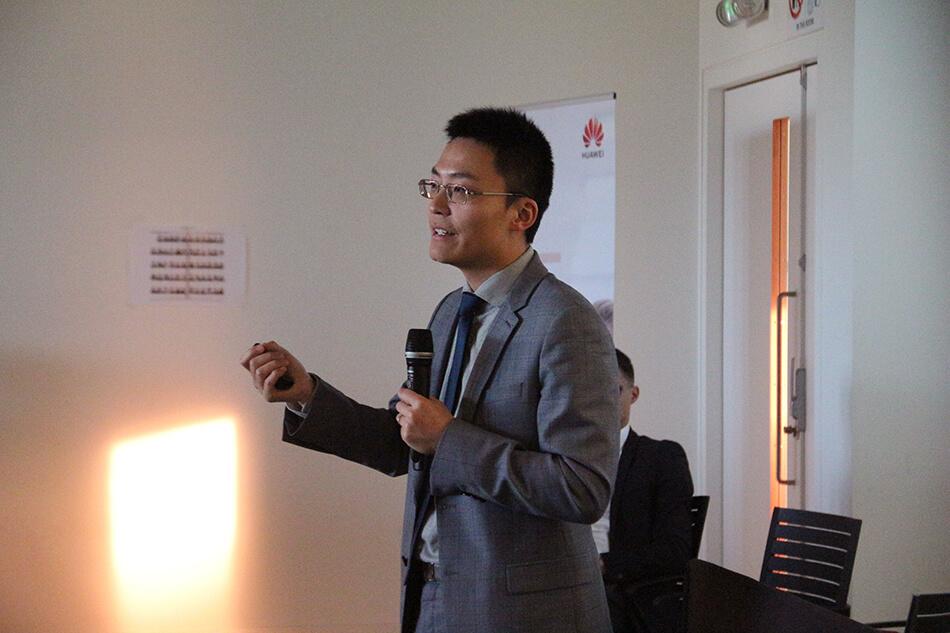 Chinese Business Day - Weiliang Shi - Huawei