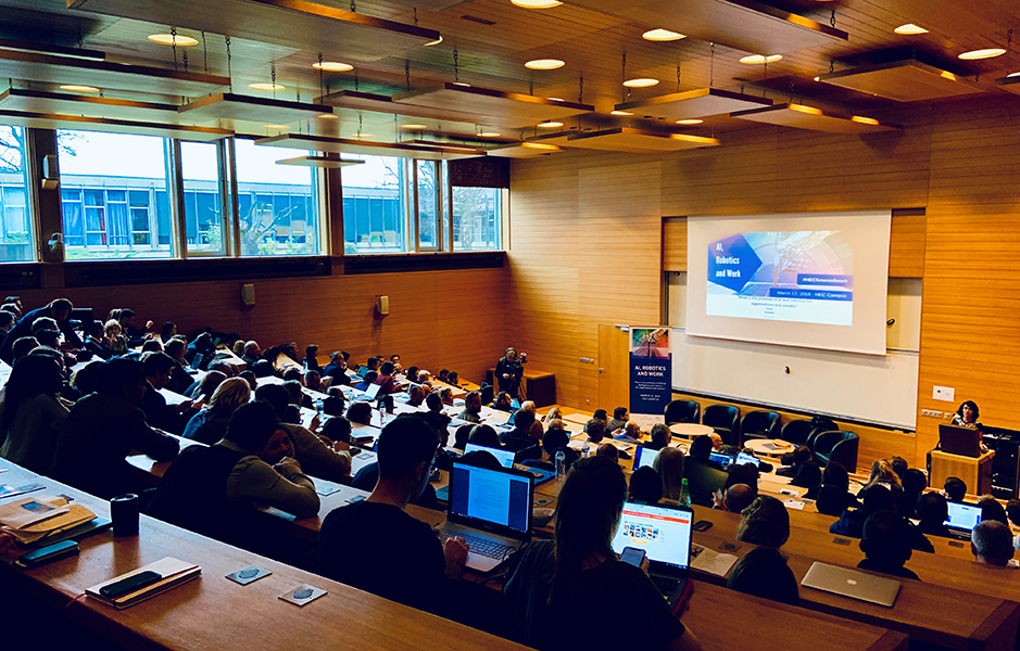 HEC Paris - S&O - AI, Robotics & Work - March 12, 2019
