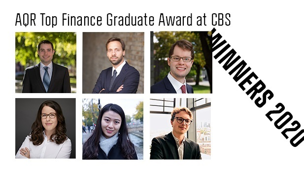 AQR Top Finance Graduate Award at CBS 2020