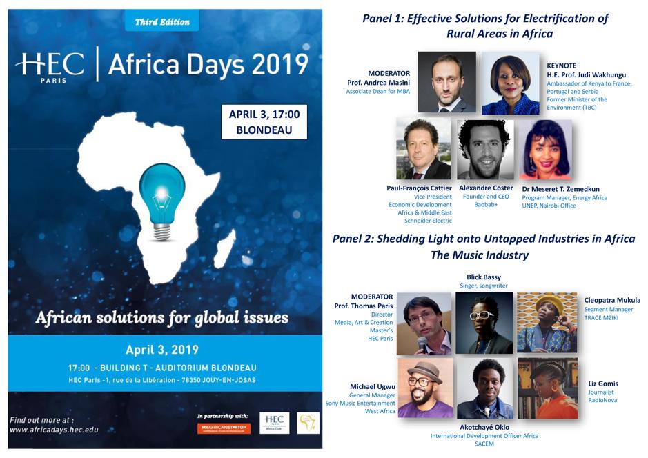 HEC Paris Africa Days 2019
