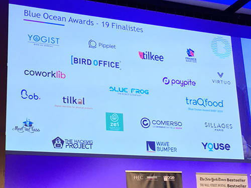 Blue Ocean Awards 2018 - 19 finalists