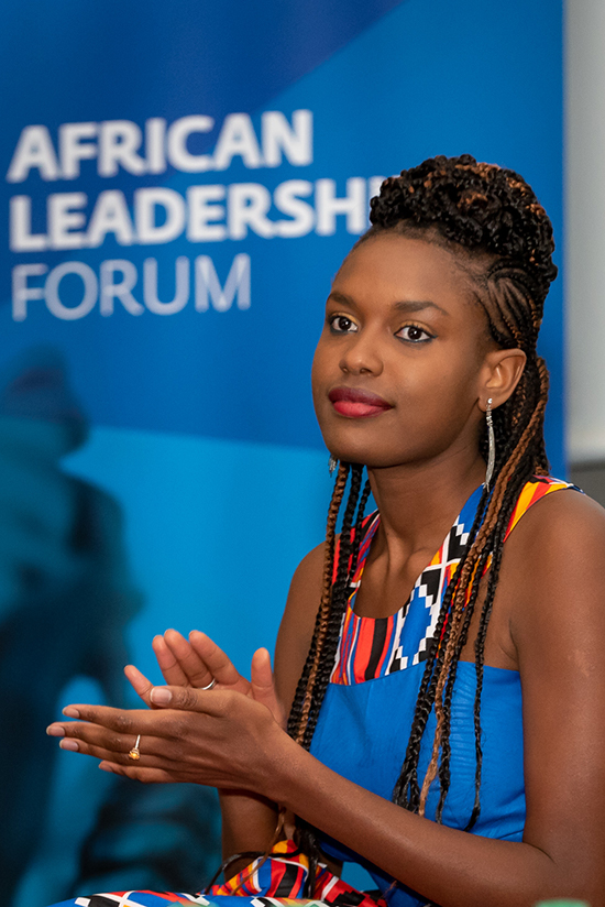 African Leadership Forum - participante