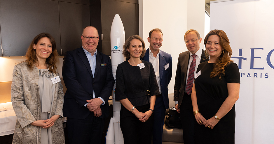Future Space Economy - HEC Paris, ArianeGroup, ESA - April 2019