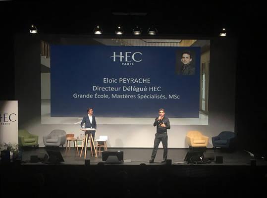 HEC Entrepreneur Fest 21 nov. 17 - E. Peyrache