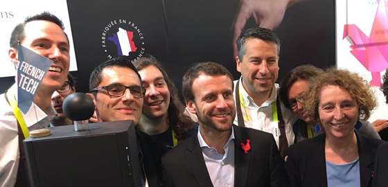 "HEC Paris entrepreneur graduate shines on world stage at CES 2016 © 10-Vins"" title=""HEC Paris entrepreneur graduate shines on world stage at CES 2016 © 10-Vins"