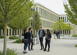 Le bâtiment S d'HEC Paris