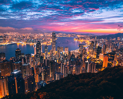 The HEC Paris MBA has an exchange program with Hong Kong