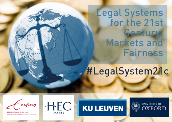 Legal Systems for the 21st Century Seminar - HEC Paris April 2018