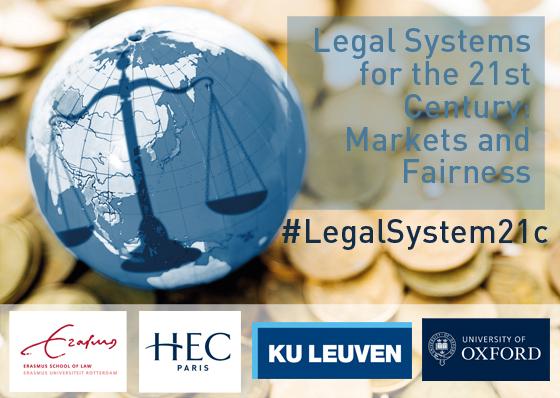 Legal Systems for the 21st Century Seminar - HEC Paris April 2018