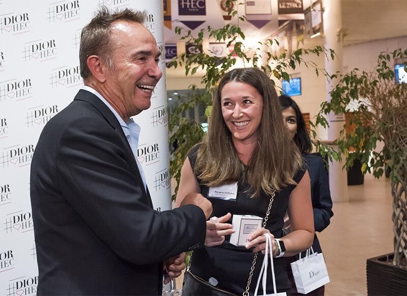 Claude Martinez, CEO of Christian Dior Parfums