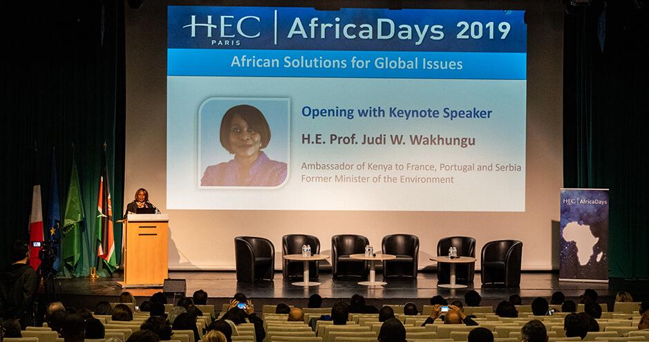 HEC Paris - AfricaDays 2019 - Judi Wakhungu