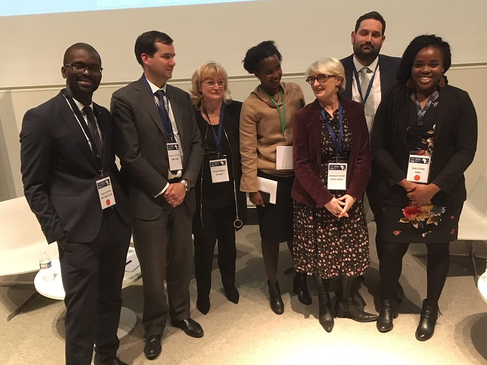 Africa Business Day 2018 - Panelists and organizers