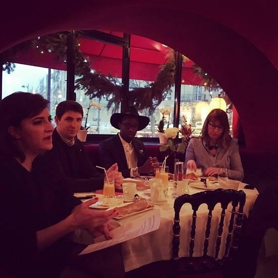 Petit-déjeuner G. Kretz Mode et luxe - 13 déc. 2017