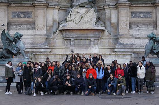 Programme PACE - Sortie Paris - Photo de groupe