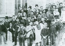 Première promotion d'HEC en 1881