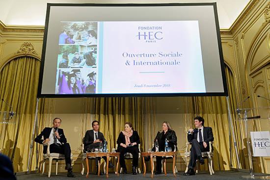 Soirée Fondation HEC 8 nov. - Table-ronde diversité