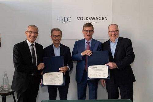Volkswagen - Fondation HEC