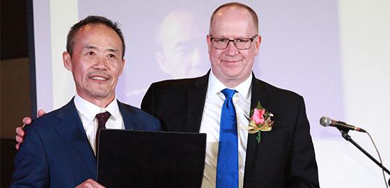 Wang Shi Peter Todd HEC Gala 2