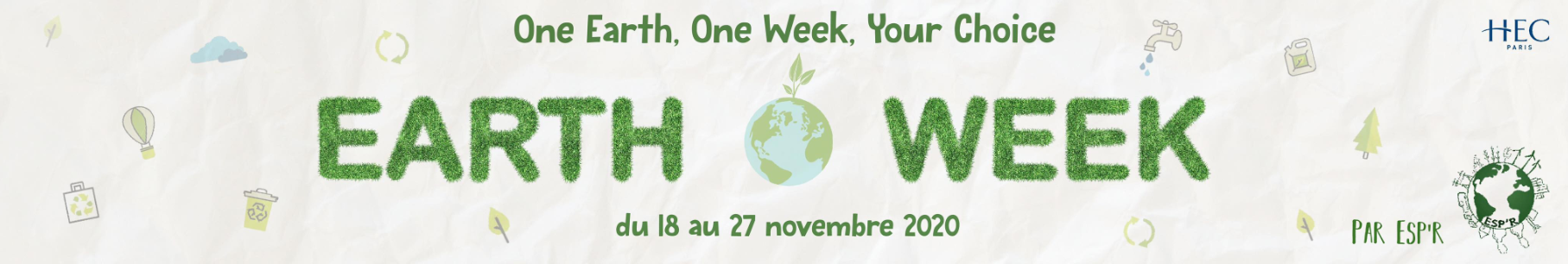 earth week banniere