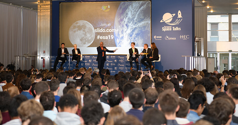 European Space Talks - HEC Paris - Oct.8, 2019