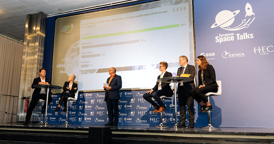 European Space Talks - HEC Paris - Oct. 8, 2019