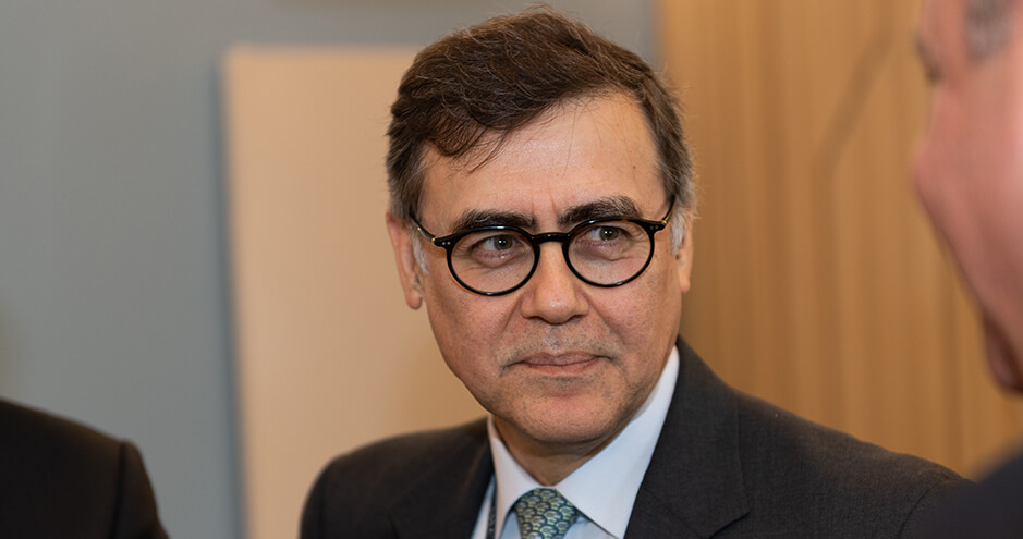 Federico Turegano, Global Head of Natural Resources & Infrastructure, Société Générale (©Studio Géhin)