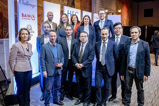 Remise des Prix de la Fondation HEC 2018 lors du Matin HEC