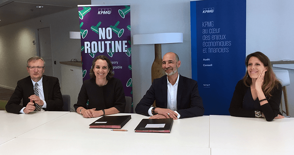 ©HEC Paris - Signature convention KPMG - HEC - mai 2019