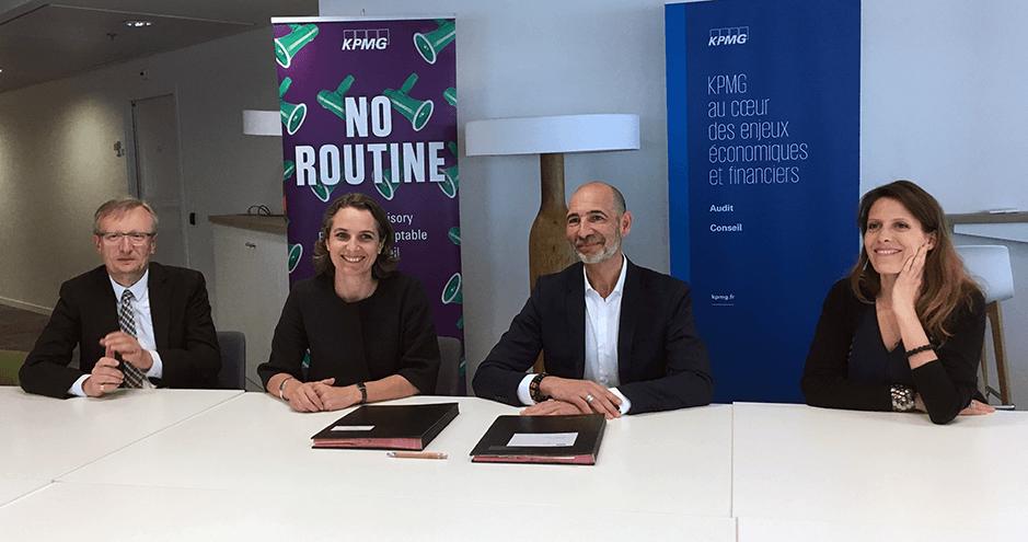 ©HEC Paris - Signature convention KPMG - HEC - mai 2019