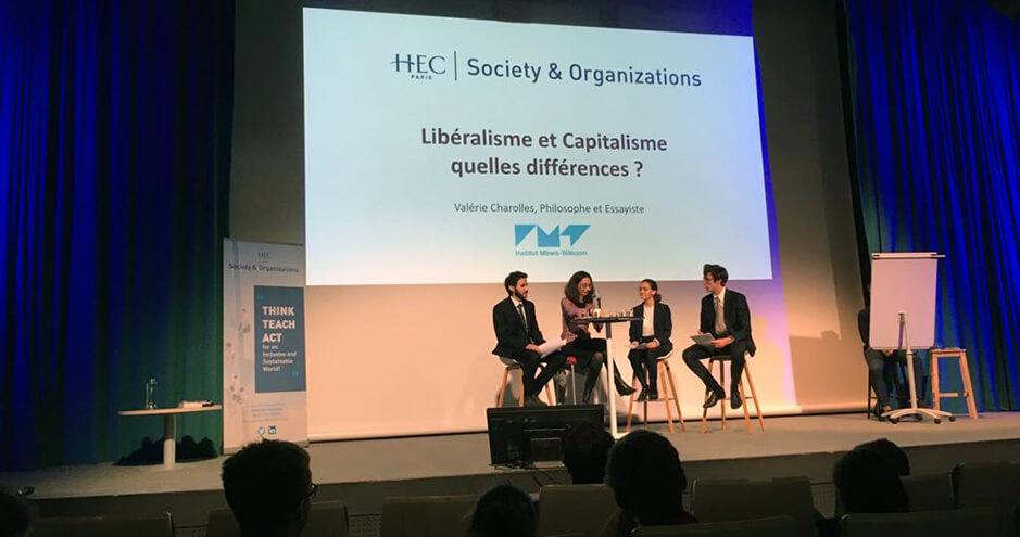 Conférence de Valérie Charolles - HEC Paris - 30 oct. 2019