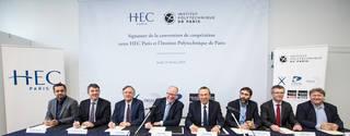 HEC Paris et l'Institut Polytechnique de Paris s'allient au service d'un projet académique d'excellence