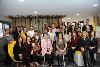 Equipe Carrières & Partenariats Entreprises HEC Paris - 2019