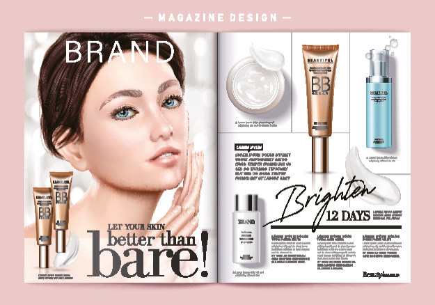 Adverstising for cosmetics