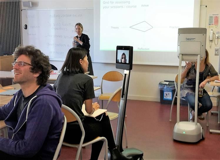Awabot Telepresence Robot HEC