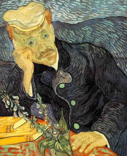 Portrait du docteur Gachet - van Gogh