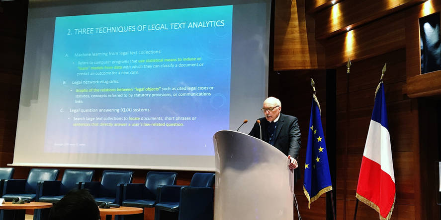 Legal Data Mining Conference - Kevin Ashley - HEC Paris, March 2019