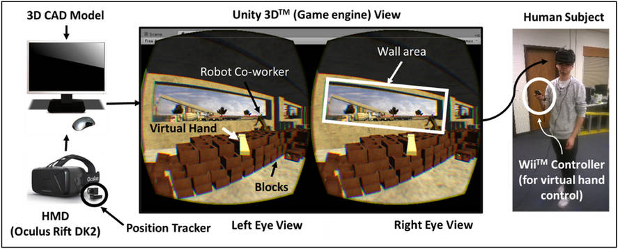 build a wall with virtual reality
