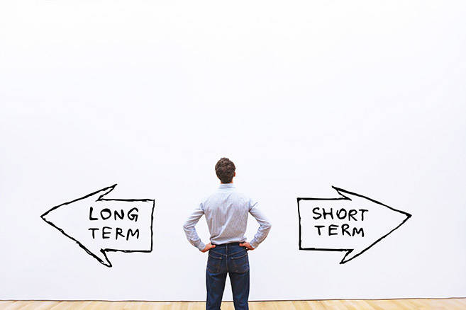long term short term ©anyaberkut / AdobeStock
