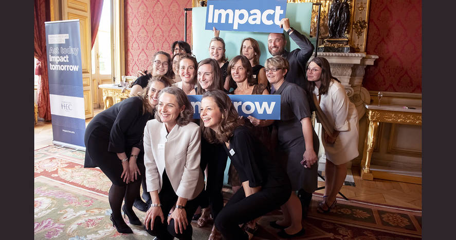 Impact Tomorrow - June 20, 2019 - HEC Foundation Team