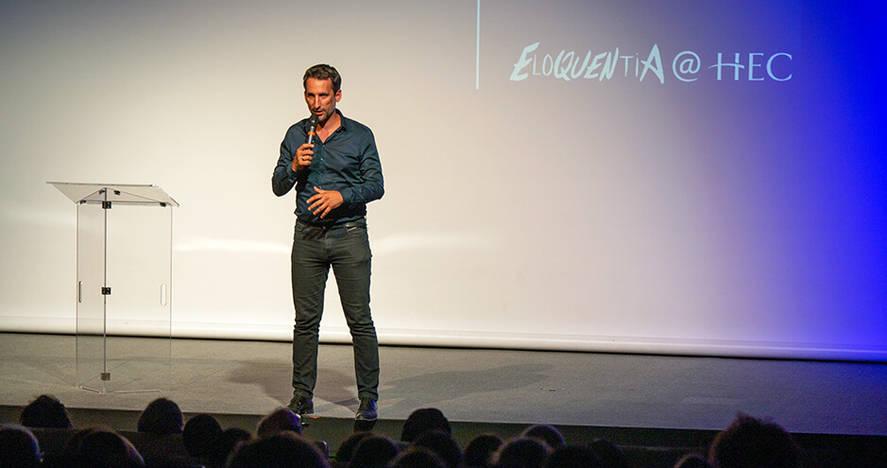 Eloquentia@HEC 2019 - Eloïc Peyrache ©Olivier Sabatier – W Project