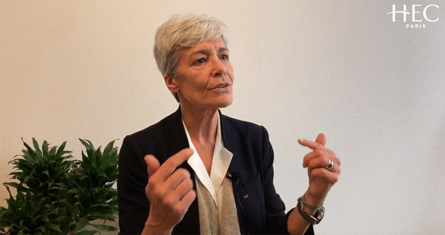 Claudie Haigneré at HEC Paris - Oct. 8, 2019