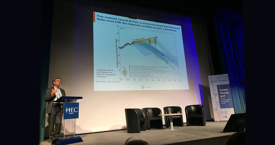 Conférence d'Alain Grandjean à HEC Paris - décembre 2019