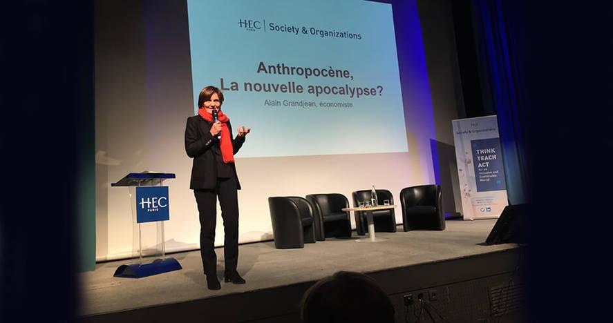 Bénédicte Faivre-Tavignot - Conférence d'Alain Grandjean à HEC Paris - décembre 2019