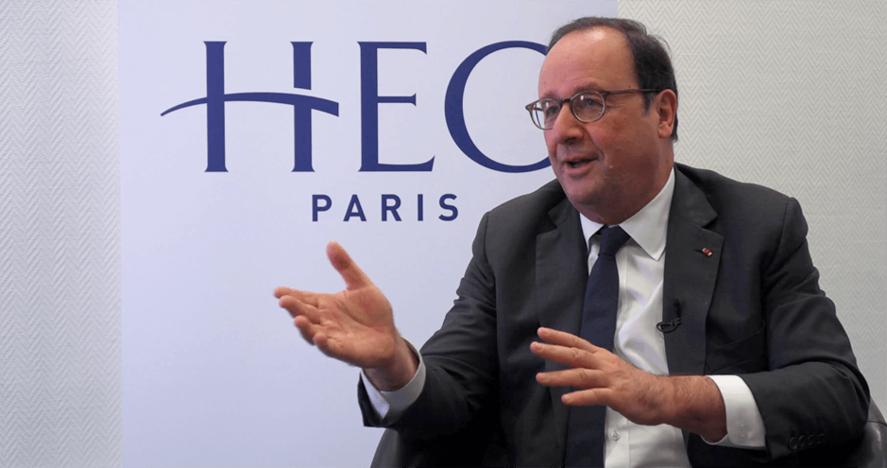 François Hollande - 3 déc. 2019 - Interview