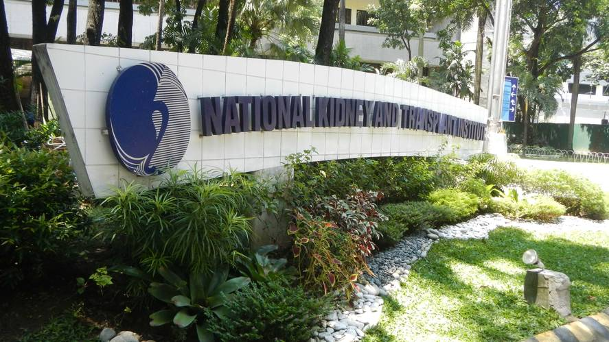 the National Kidney and Transplant Institute Quezon Philippines